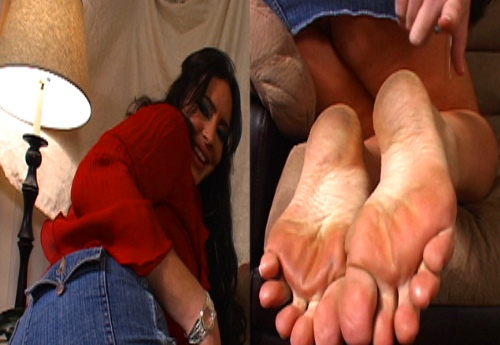 The 2 Minute Cum On My Dirty Feet Then Lick It Off MI